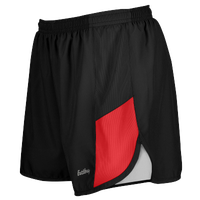 "Eastbay Team 2"" 2 Color Track Shorts - Women's - Black / Red"