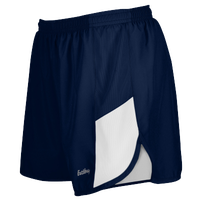 "Eastbay Team 2"" 2 Color Track Shorts - Women's - Navy / White"