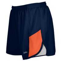 "Eastbay Team 2"" 2 Color Track Shorts - Women's - Navy / Orange"