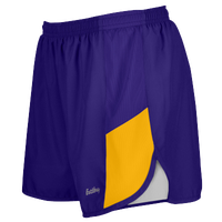 "Eastbay Team 2"" 2 Color Track Shorts - Women's - Purple / Gold"