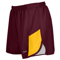 "Eastbay Team 2"" 2 Color Track Shorts - Women's - Maroon / Gold"