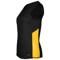 Eastbay Team Two Color Singlet - Women's - Black / Gold