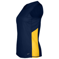 Eastbay Team Two Color Singlet - Women's - Navy / Gold