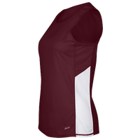 Eastbay Team Two Color Singlet - Women's - Maroon / White