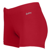 "Eastbay Team 3"" Compression Track Shorts - Women's - Red / Red"