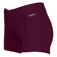 "Eastbay Team 3"" Compression Track Shorts - Women's - Maroon / Maroon"