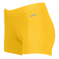 "Eastbay Team 3"" Compression Track Shorts - Women's - Gold / Gold"