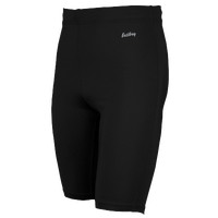"Eastbay Team 9"" Compression Track Shorts - Men's - All Black / Black"