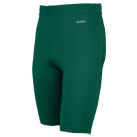 "Eastbay Team 9"" Compression Track Shorts - Men's - Dark Green / Dark Green"