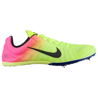 Nike Zoom D - Men's - Light Green / Pink