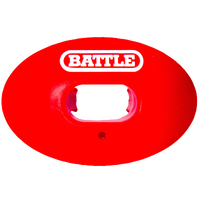 Battle Sports Oxygen Mouthguard - Adult - Red / White