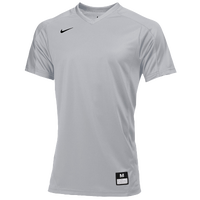 Nike Team Vapor Dri-FIT Game Top - Boys' Grade School - Grey / Grey