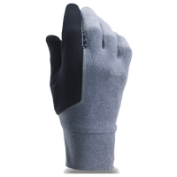 Under Armour ColdGear Storm Core Run Liner Gloves - Men's - Grey / Black