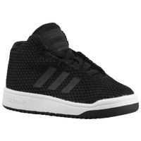 adidas Originals Veritas Mid - Boys' Toddler - Black / White