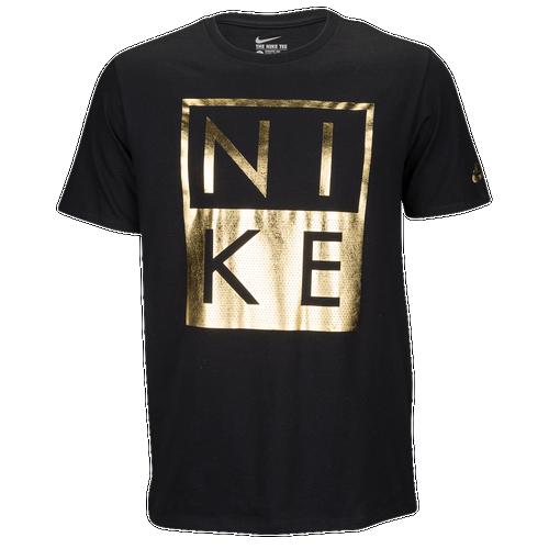 Nike graphic t shirt men 39 s casual clothing black for T shirt design nike