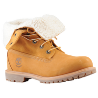 Timberland Teddy Fleece Fold Down Boot - Women's - Tan / Tan