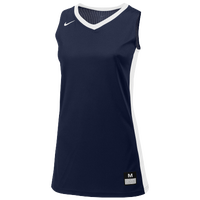 Nike Team Fastbreak Jersey - Women's - Navy / White