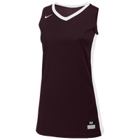 Nike Team Fastbreak Jersey - Women's - Maroon / White