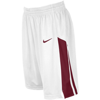 Nike Team Fastbreak Shorts - Women's - White / Maroon