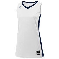Nike Team Fastbreak Jersey - Girls' Grade School - White / Navy