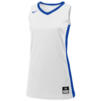 Nike Team Fastbreak Jersey - Girls' Grade School - White / Blue