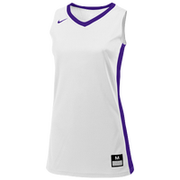 Nike Team Fastbreak Jersey - Girls' Grade School - White / Purple