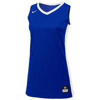 Nike Team Fastbreak Jersey - Girls' Grade School - Blue / White
