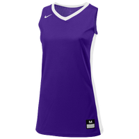 Nike Team Fastbreak Jersey - Girls' Grade School - Purple / White