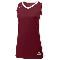 Nike Team Fastbreak Jersey - Girls' Grade School - Maroon / White