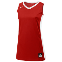 Nike Team Fastbreak Jersey - Girls' Grade School - Red / White