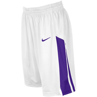 Nike Team Fastbreak Shorts - Girls' Grade School - White / Purple