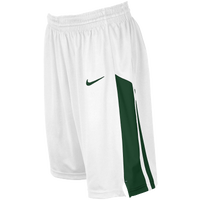 Nike Team Fastbreak Shorts - Girls' Grade School - White / Dark Green