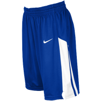 Nike Team Fastbreak Shorts - Girls' Grade School - Blue / White