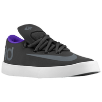 Nike KD Vulc - Boys' Preschool - Kevin Durant - Grey / Purple