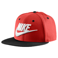 Nike Futura Snapback Cap - Men's - Red / White