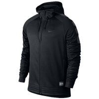 Nike Elite Stripe Hoodie - Men's - Black / Grey