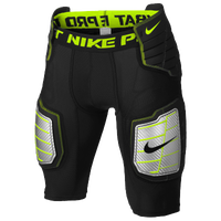 Nike Pro Combat Hyperstrong Girdle - Men's - Black / Light Green