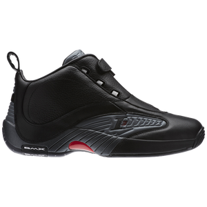 Reebok Answer IV - Men's - Allen Iverson - Black/Rivet Grey/Excellent Red