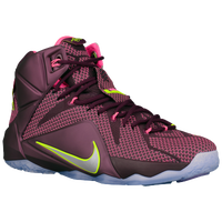 Nike Lebron 12 - Men's - Lebron James - Purple / Pink