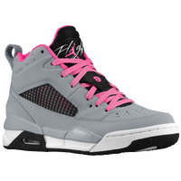 Jordan Flight 9.5 - Girls' Grade School - Grey / Black
