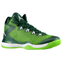 Jordan Super.Fly 3 - Men's - Dark Green / Light Green