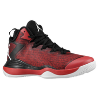 Jordan Super.Fly 3 - Boys' Grade School - Black / Red