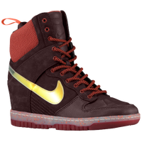 Nike Dunk Sky Hi Sneaker Boot - Women's - Maroon / Red