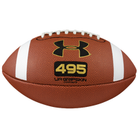 Under Armour Junior Size Composite Football - Boys' Grade School - Brown / White