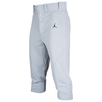 Jordan Re2pect Knicker Baseball Pants - Men's - Grey / Black