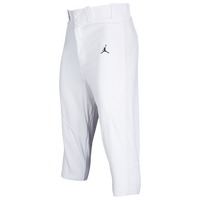Jordan Re2pect Knicker Baseball Pants - Men's - White / Black