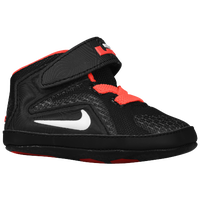 Nike Lebron 12 - Boys' Infant - Lebron James - Black / Red