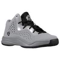 adidas D Rose 773 III - Boys' Preschool - Derrick Rose - Grey / Black