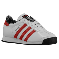 adidas Originals Samoa - Boys' Preschool - Grey / Red