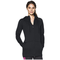 Under Armour Storm Armour Fleece Long F/Z Hoodie - Women's - All Black / Black
